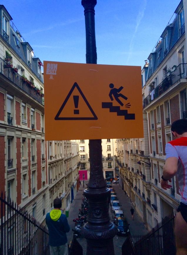 signalisation escaliers