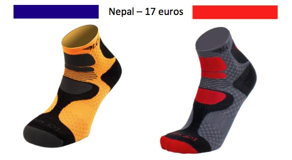 chaussettes nepal