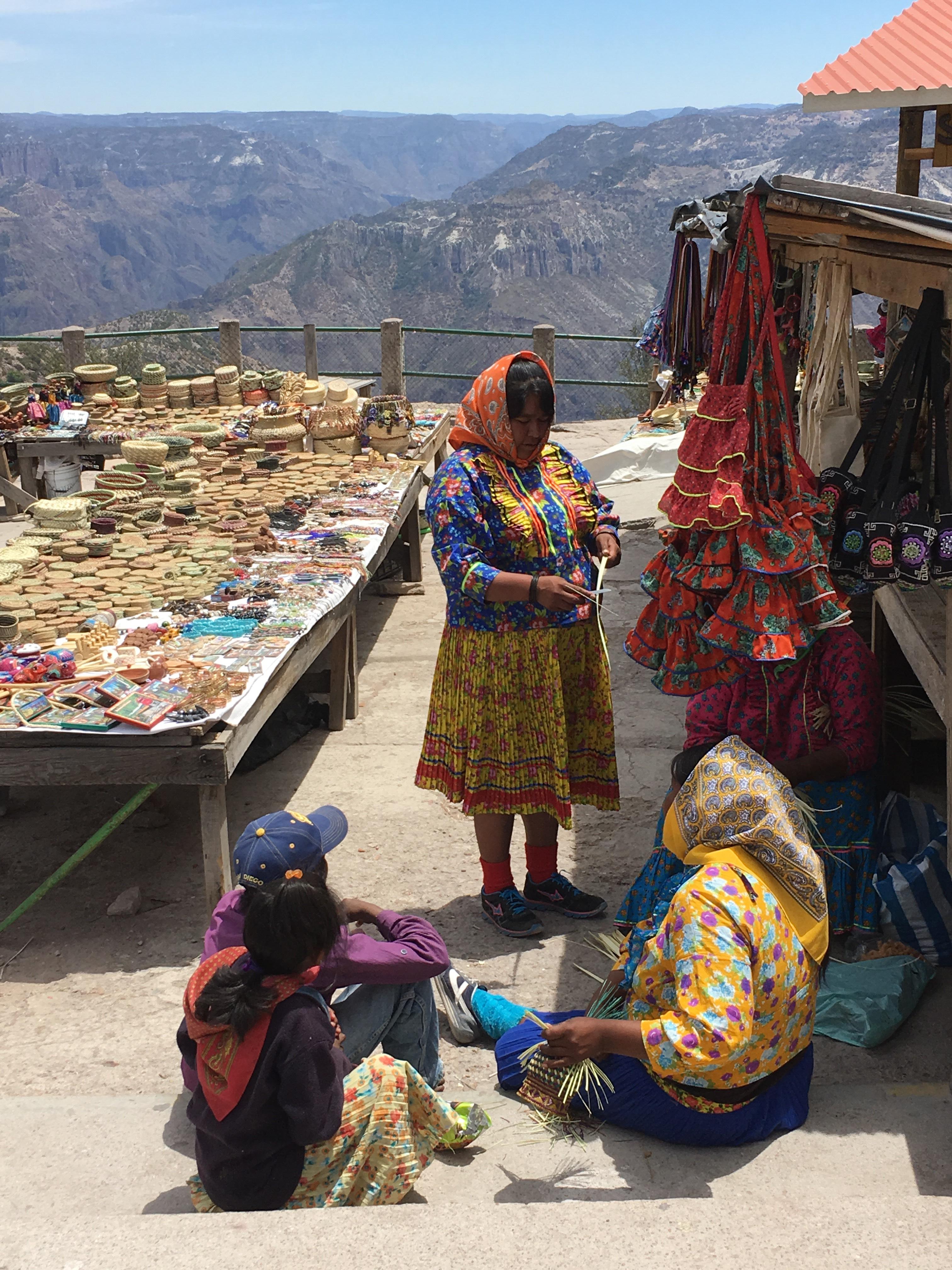 femmes marché